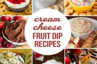 Cream Cheese Fruit Dip Recipes are tasty appetizers that are made of a few ingredients and take just minutes to prepare. Everyone loves an easy fruit dip!