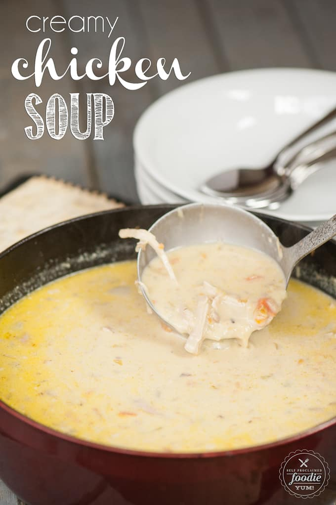 Homemade creamy chicken soup recipes