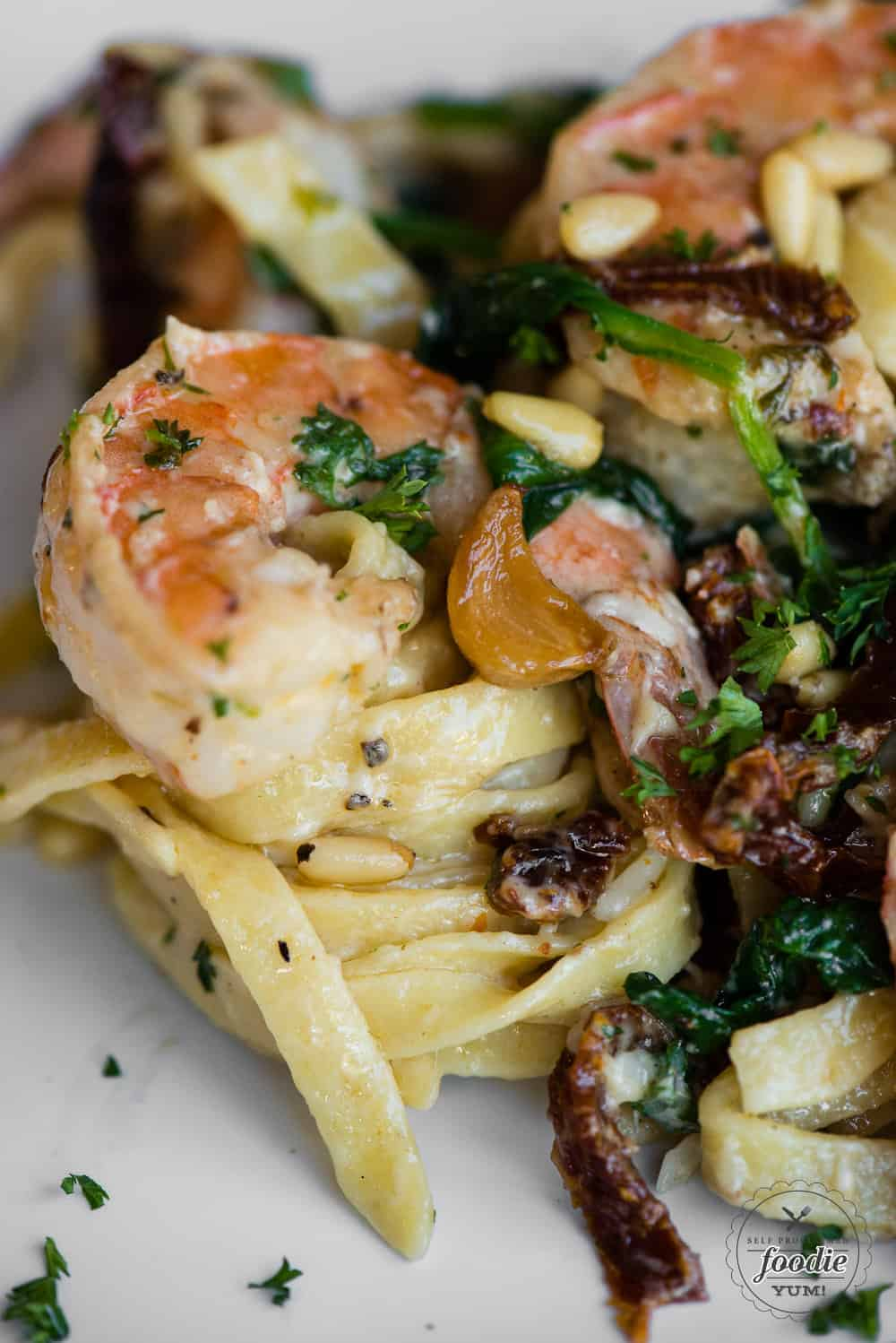 Creamy Sundried Tomato Shrimp Pasta Recipe