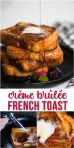 Crème Brûlée French Toast recipe