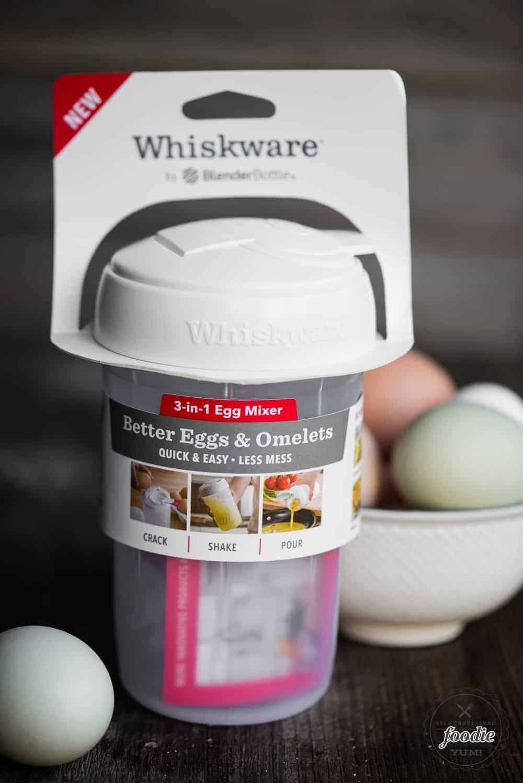 whiskware egg mixer bottle