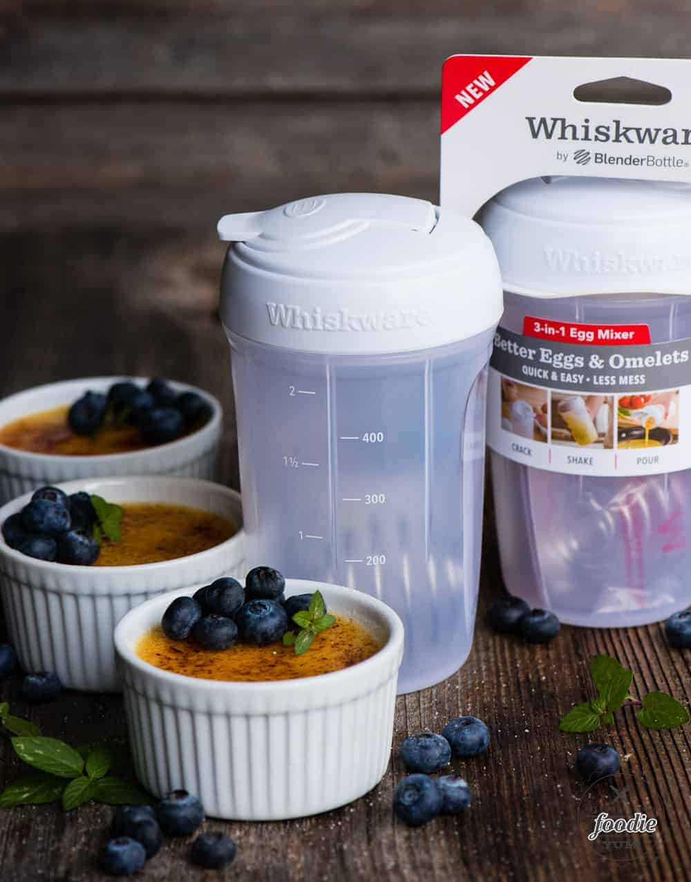 using whiskware to make the best creme brulee recipe