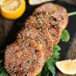 Easy dinner recipe of southern salmon patties
