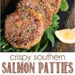 Recipe for crispy southern salmon patties