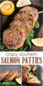 Recipe for crispy southern salmon patties