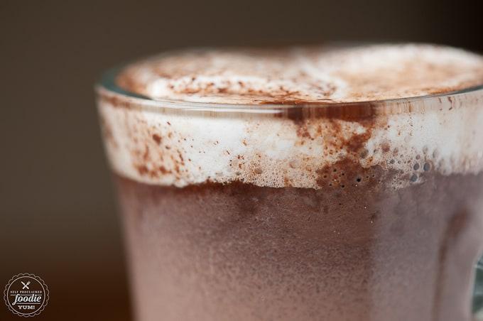 Dark Chocolate Vanilla Bean Hot Cocoa | Self Proclaimed Foodie