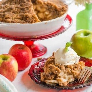 Dutch Apple Pie topping