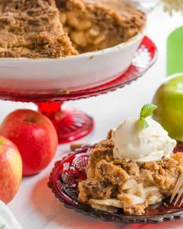 Dutch Apple Pie topping