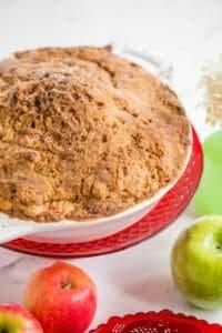 freshly baked Dutch Apple Pie