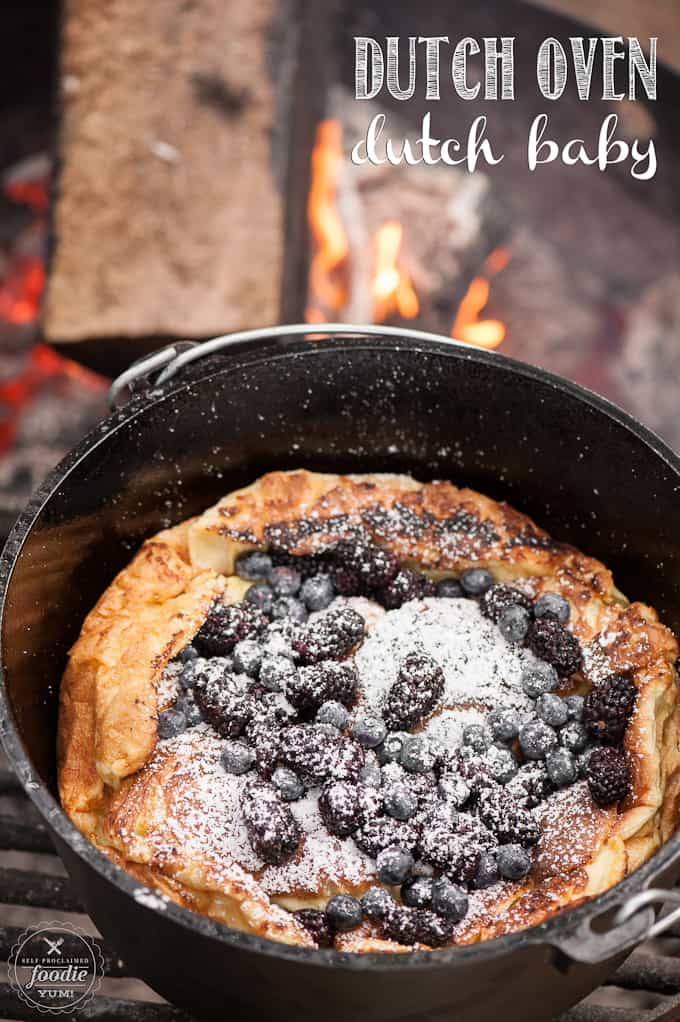 Dutch Oven Dutch Baby Self Proclaimed Foodie