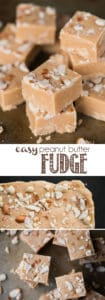 Easy Peanut Butter Microwave Fudge Recipe