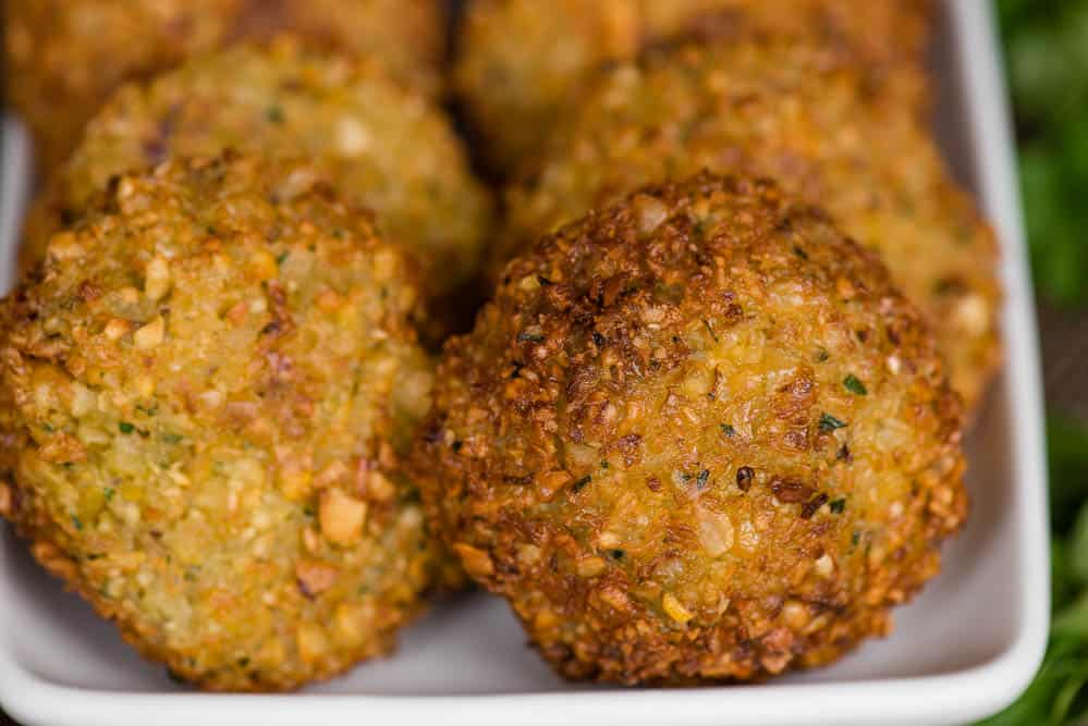 deep fried falafel