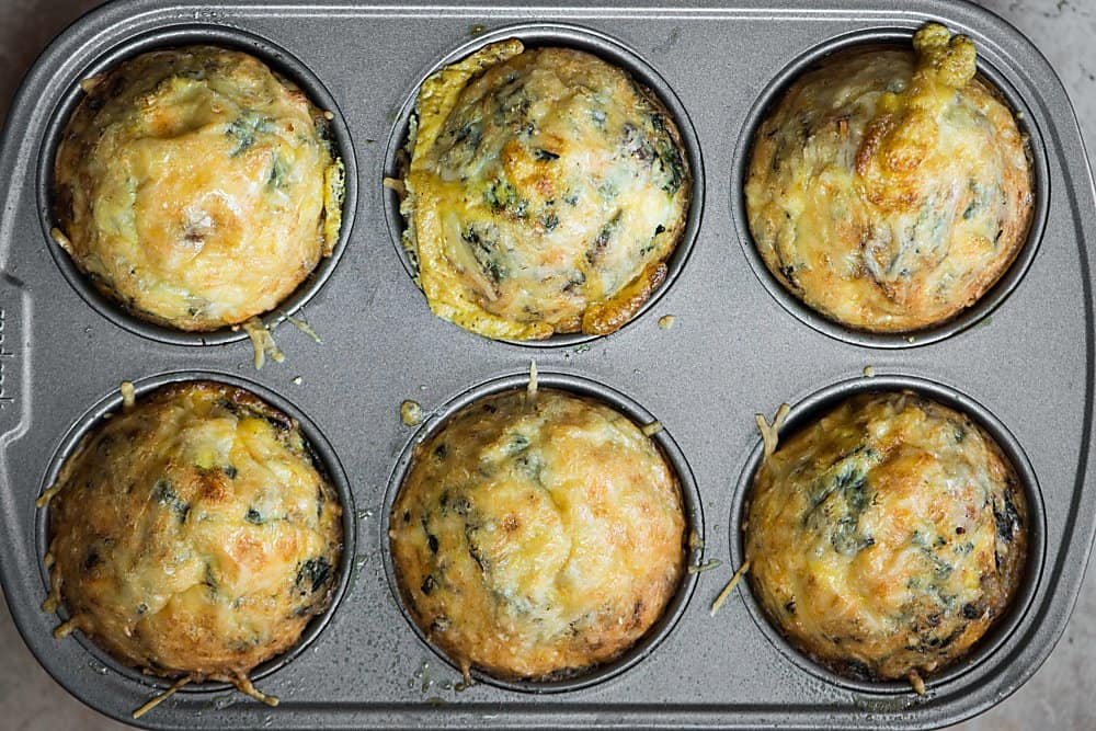 cooked fall harvest egg muffins