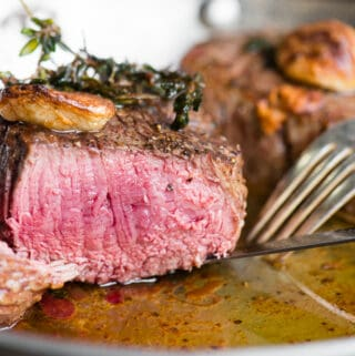 recipe for perfect filet mignon