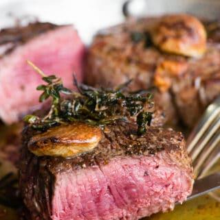 how to cook perfect medium rare filet mignon