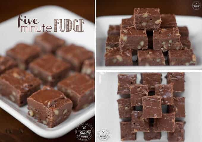 Microwave Fudge is a fast, easy, and sinfully delicious way to make homemade fudge in just five minutes. This fudge recipe will become a family favorite!