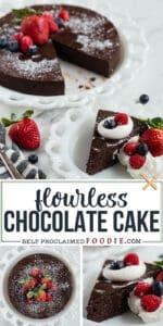 the best flourless chocolate cake recipe