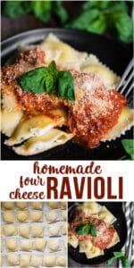 how to make Homemade Four Cheese Ravioli