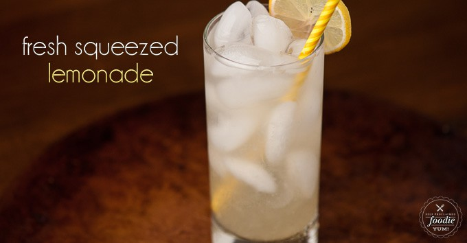 There is nothing better than enjoying an ice cold glass of easy-to-make classic homemade Fresh Squeezed Lemonade on a gorgeous warm day.