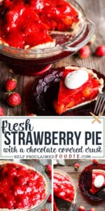 recipe for the best fresh strawberry pie