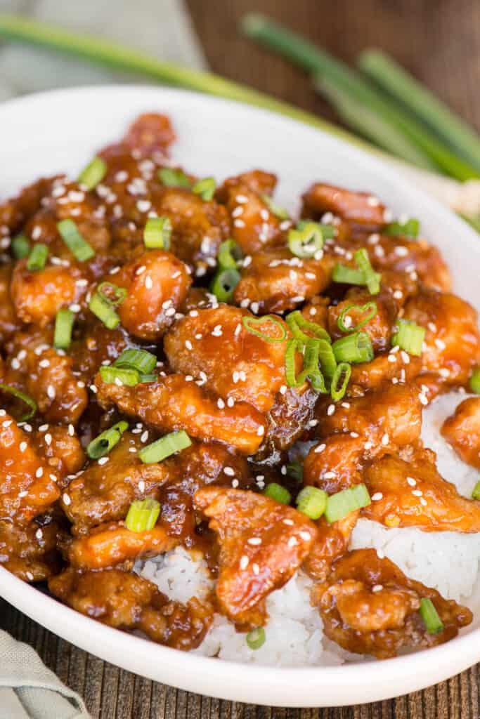 the best homemade General Tso's Chicken Recipe