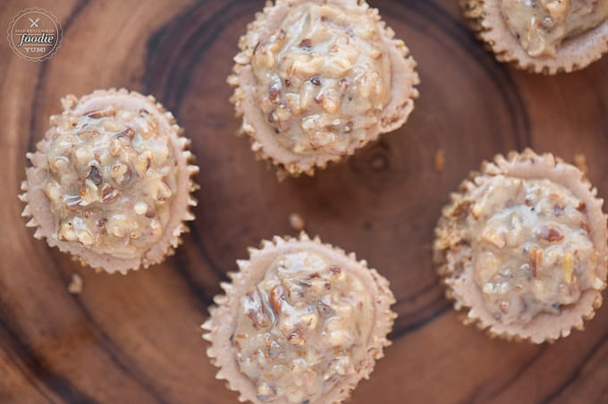 These German Chocolate Mini Cheesecakes combine everyone's favorite german chocolate cake with rich homemade cheesecake into delicious individual desserts.