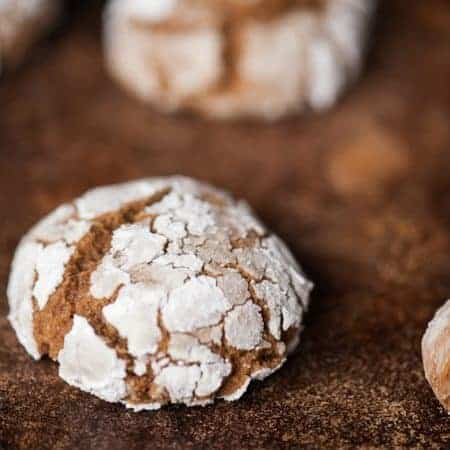 Gingerbread Crinkles