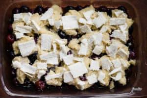 uncooked gluten free cherry cobbler