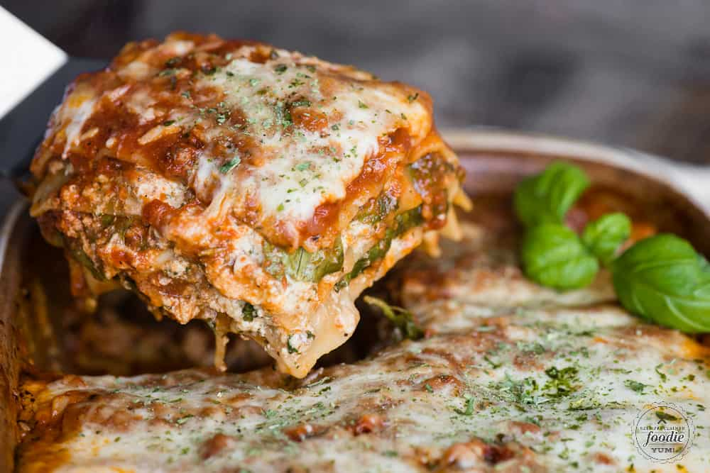 the absolute best lasagna recipe