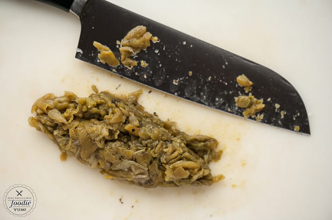 chopped roasted green chile