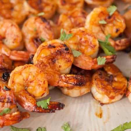Grilled Chipotle Shrimp Skewers
