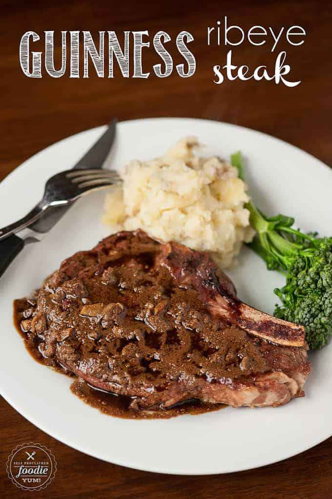 If you're looking for a delicious and flavorful dinner idea, serve up some Guinness Ribeye Steak.