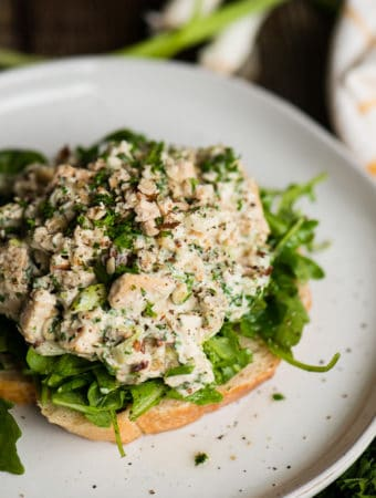 how to make hazelnut chicken salad