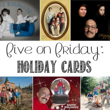 Five on Friday: Holiday Cards