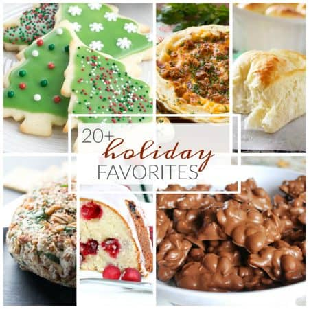 20 of my Favorite Holiday Recipes