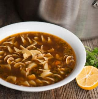 Easy Homemade Chicken Noodle Soup