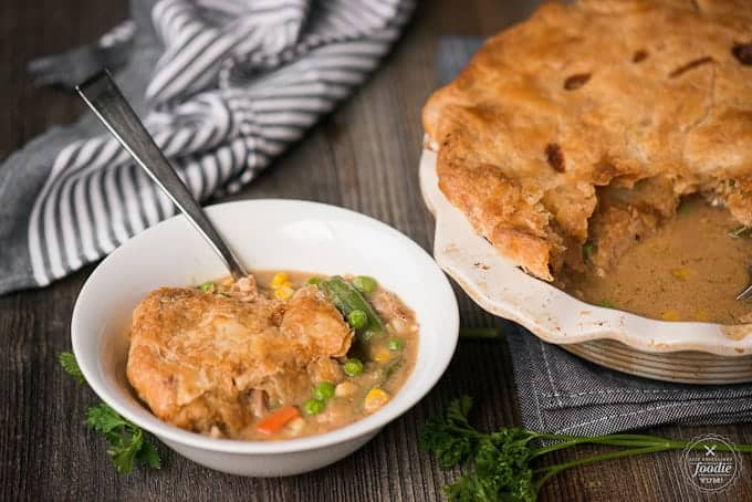 Sometimes you just can't beat a classic, and there's no better comfort food you can enjoy for family dinner than homemade Chicken Pot Pie.
