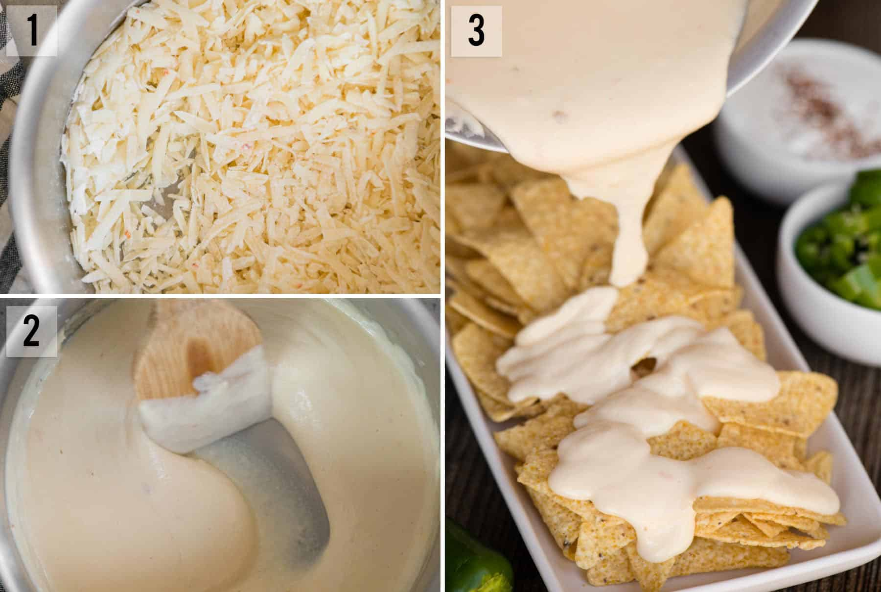 step by step photos for Homemade Nacho Cheese recipe