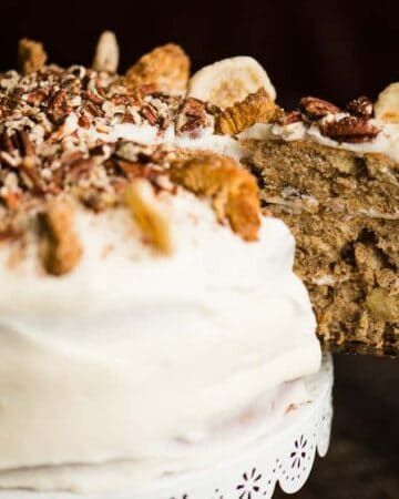 Banana and pineapple Hummingbird Cake