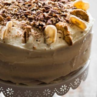 Whole Hummingbird Cake with banana and pineapple