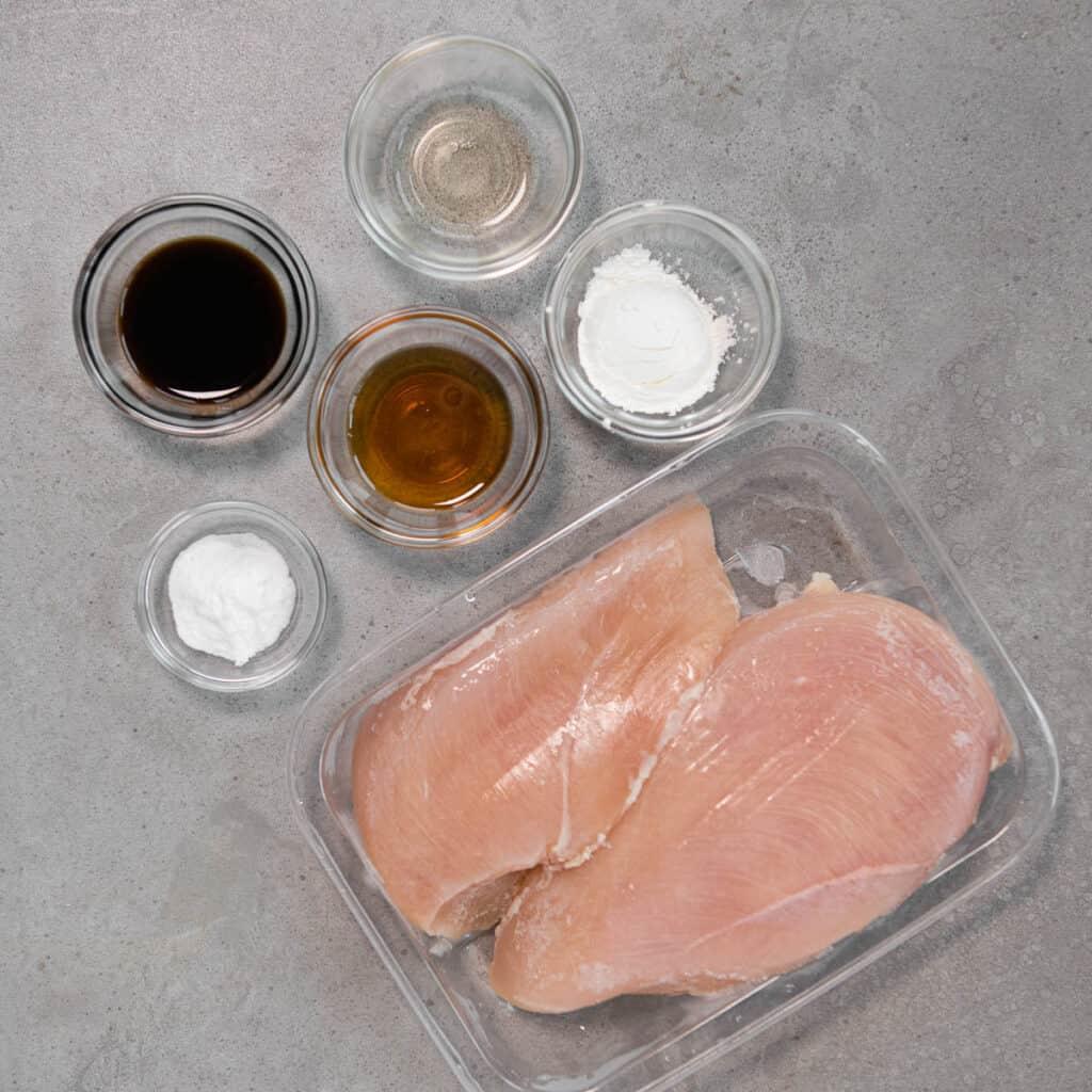 ingredients for hunan chicken marinade