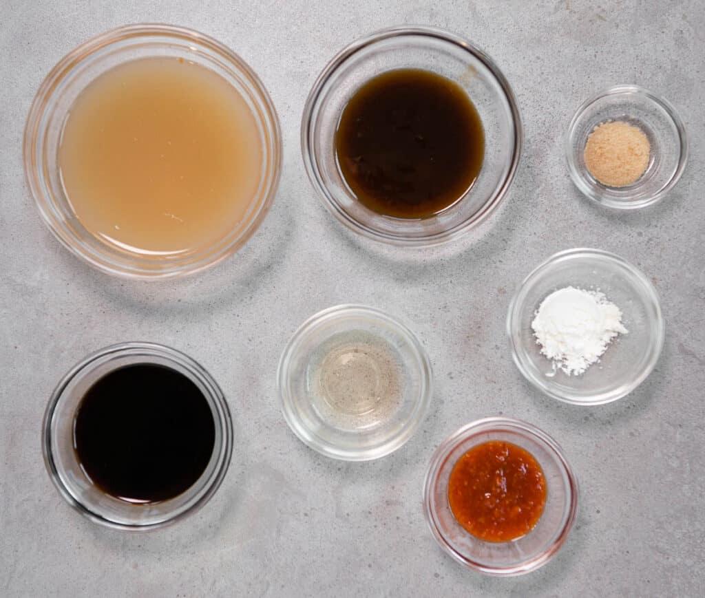 hunan sauce ingredients