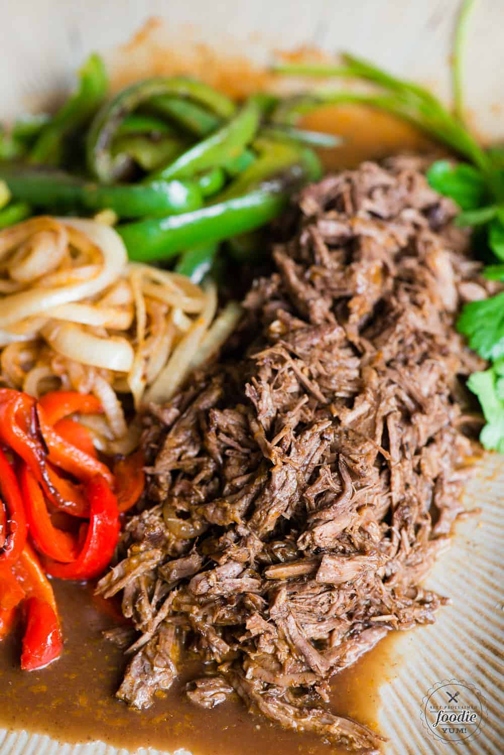 how to make shredded beef in the instant pot