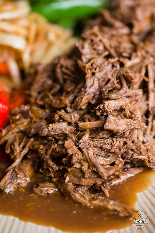 pressure cooker shredded beef recipe