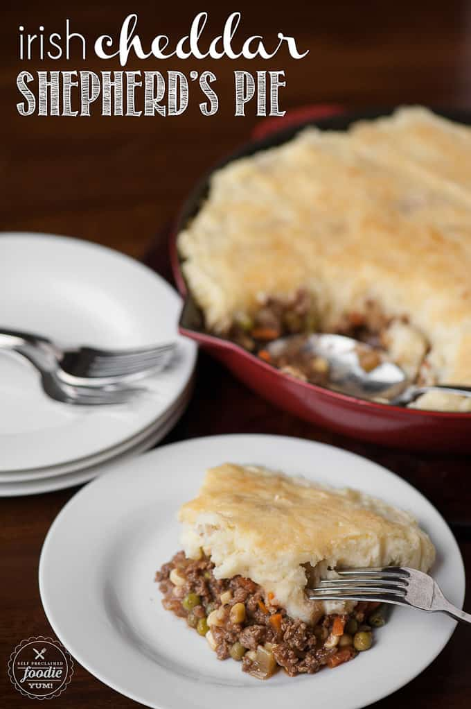 shepherd's pie with irish cheddar