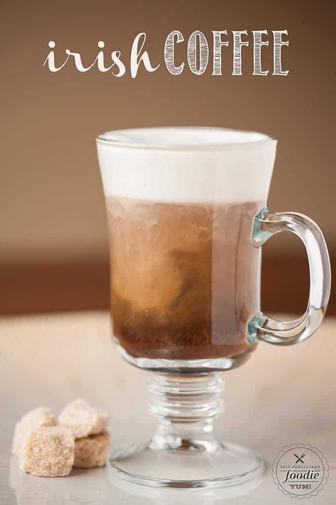 Irish Coffee Drink