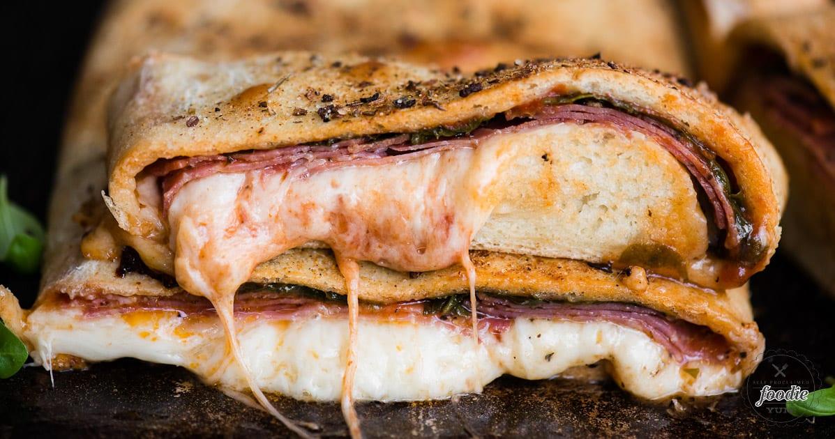 Easy Italian Stromboli Recipe | Self Proclaimed Foodie