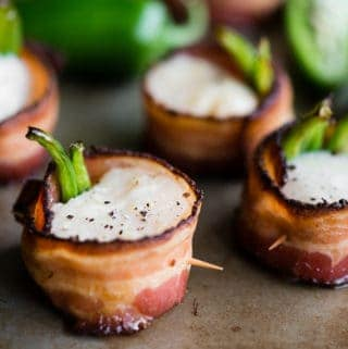 Jalapeño Bacon Wrapped Scallops with Open Nature