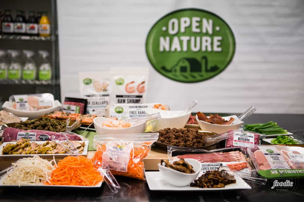 A selection of open nature products