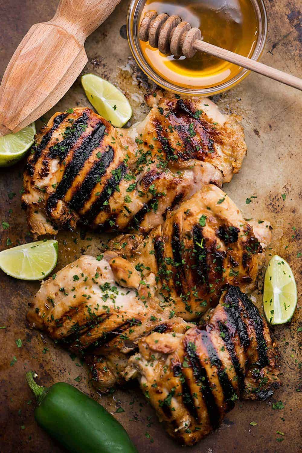 grilled chicken with easy marinade
